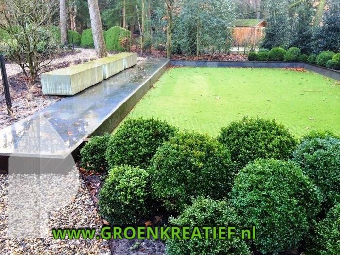 graniet-element-buxus-tuinaanleg-groenkreatief-nl-midden-nederland